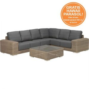 4-seasons-kingston-hoek-loungeset-5delig-wicker-licht-bruin