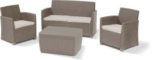 allibert-loungeset-corona-4delig-wicker-cappuccino