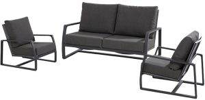 4-seasons-outdoor-madagascar-loungeset-3delig-grijs
